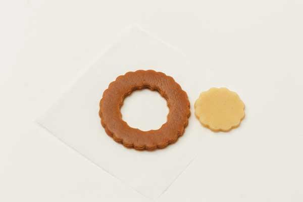 Gingerbread cookie shape