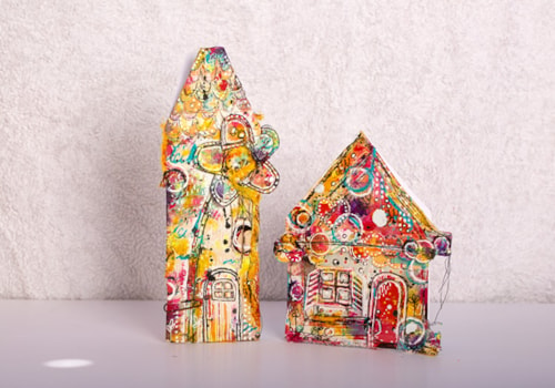 Houses of Art papercrafting project