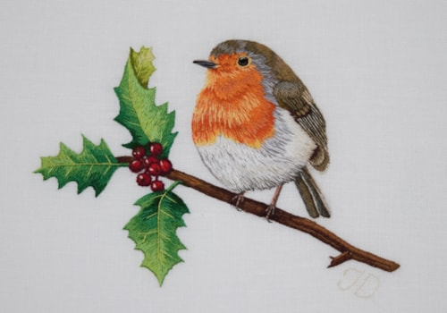 Jessica-Devin-Robin-Red-Breast-embroidery