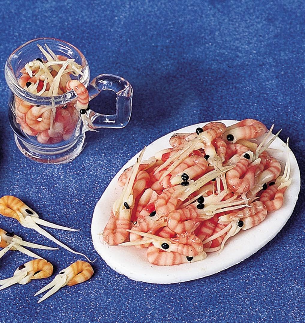 Free Miniature Food Project: Prawns
