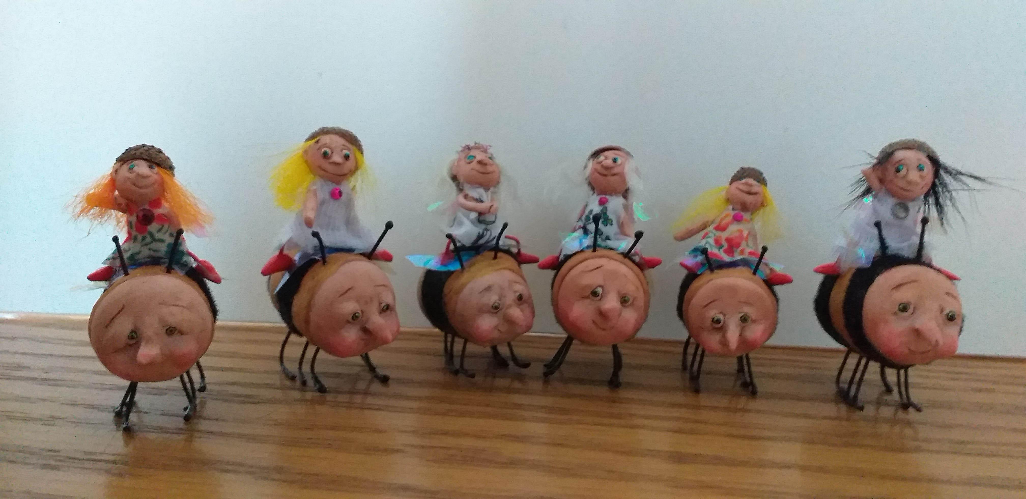 Kastle Kelm Miniatures characters