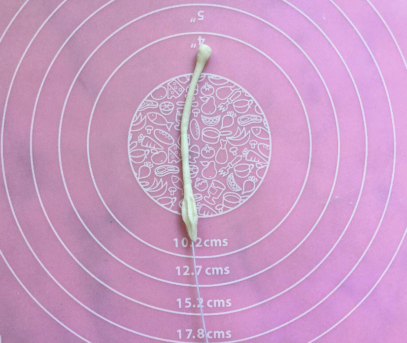 Sugarpaste Lily step 1