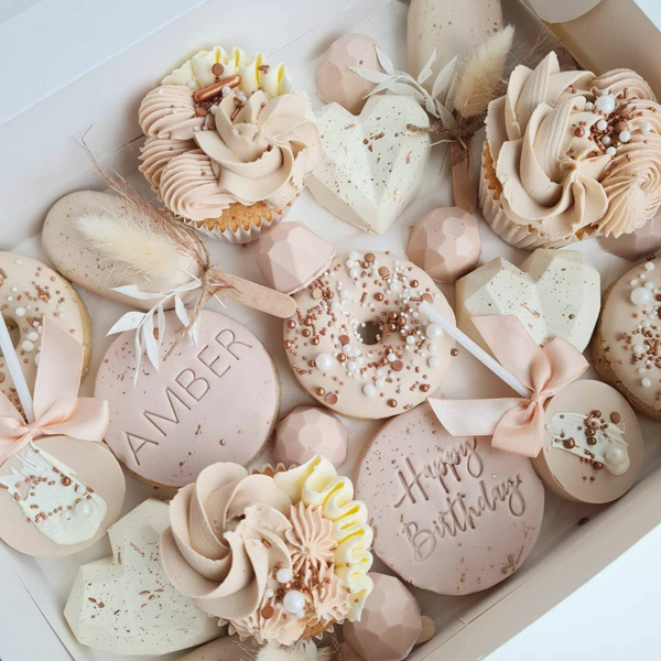 Treat box by Loren's Cakes and Bakes