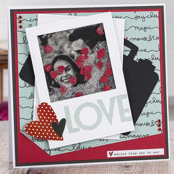 'Love' Valentine's Day card tutorial