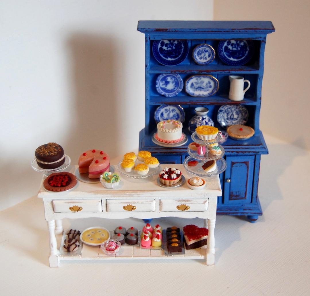 miniature-blue-dresser
