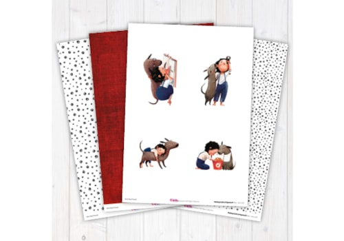 Girl's Best Friend digital craft paper collection