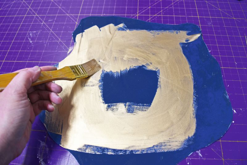 MOODY BLUES CAKE STEP 16