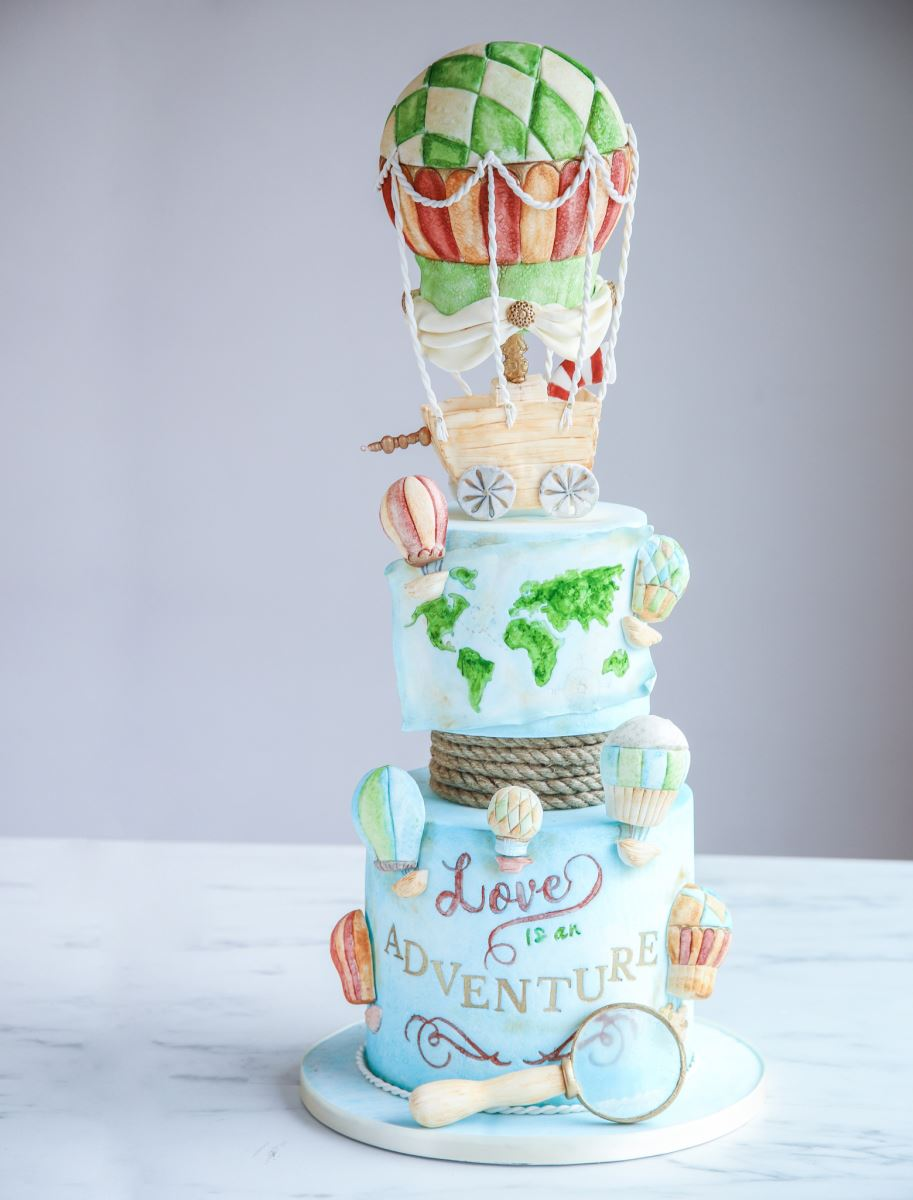 MAIN IMAGE OF SWEET STAMPING CAKE