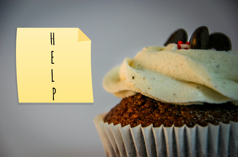 Abbreviated cupcake