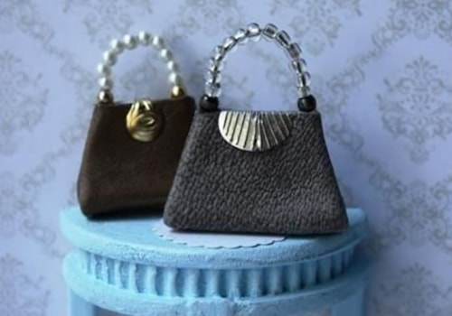 Miniature leather handbag tutorial