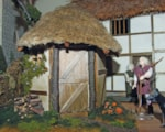 Miniature woodman's cottage