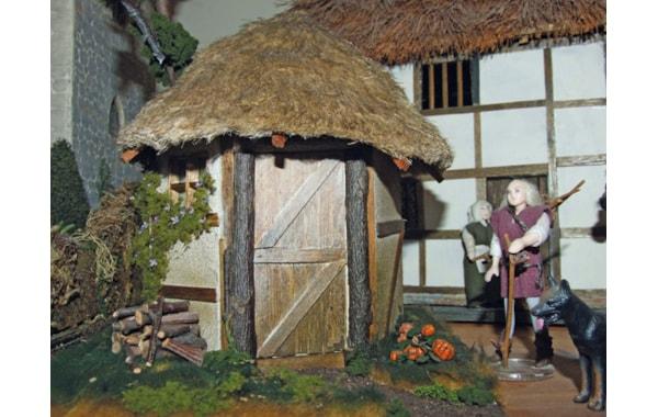 Miniature woodman's cottage