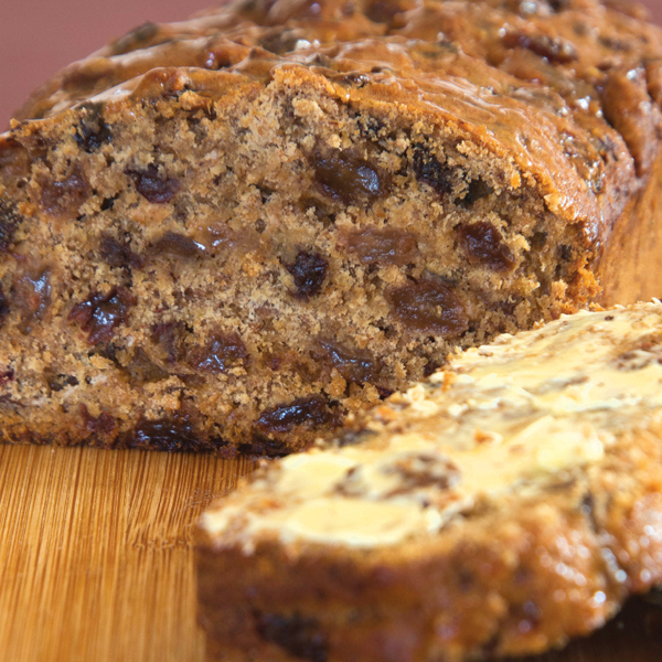 No sugar fruit loaf