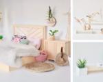 Ollie's Dollhouse Scandi-style miniatures