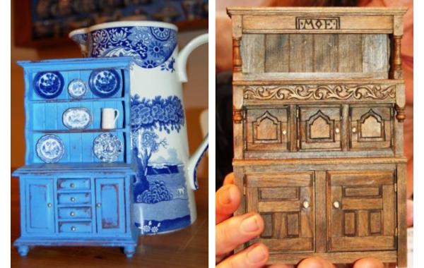 Painted dresser and Welsh dresser