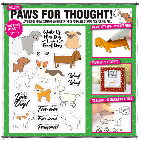 Paw-for-thought-stamp-set