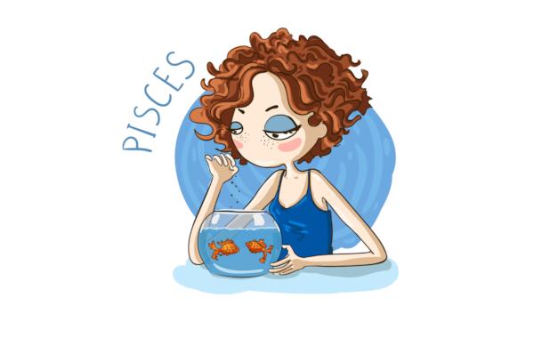 Free digi stamp: Pisces
