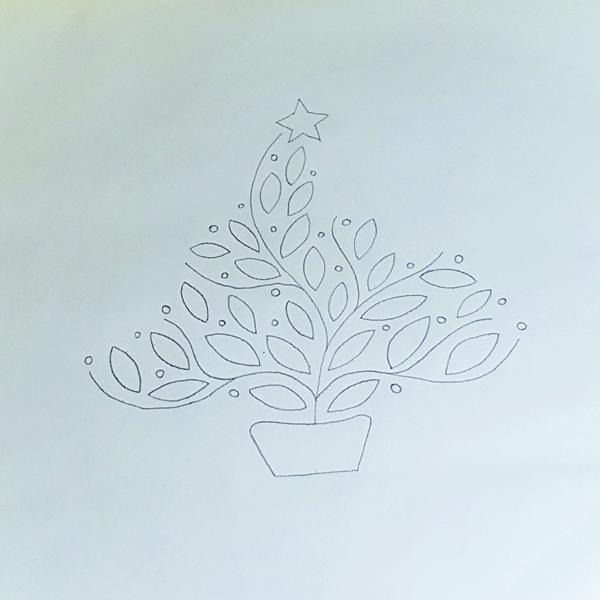 Traced tree design