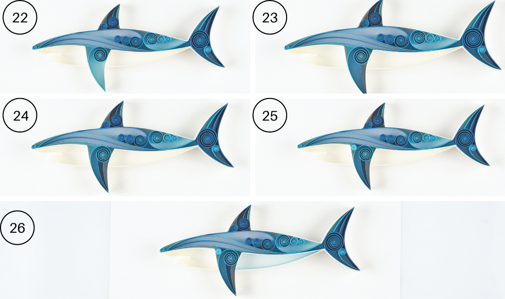 quilled sharks step 22-26