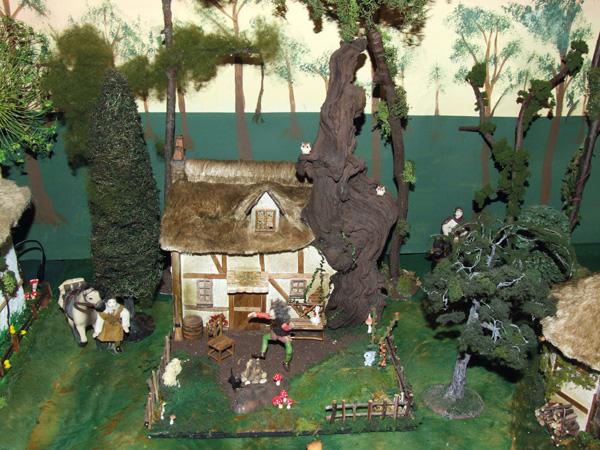 Rumplestiltskin's house in miniature