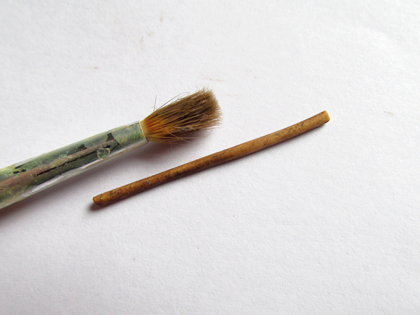 Miniature wartime sweets dried liquorice root step 3