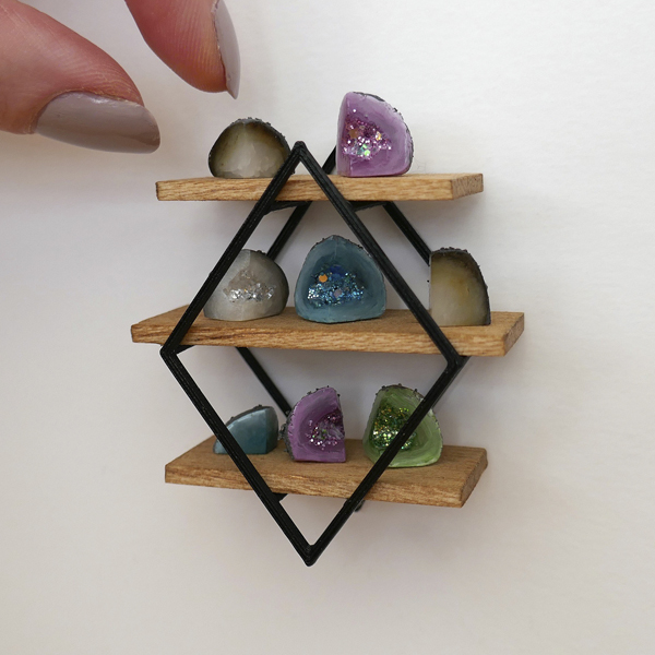 SJ Holmes miniature geodes