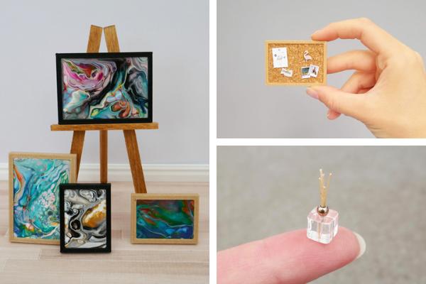 SJ Holmes miniature contemporary creations