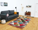SJ Holmes miniature contemporary living room
