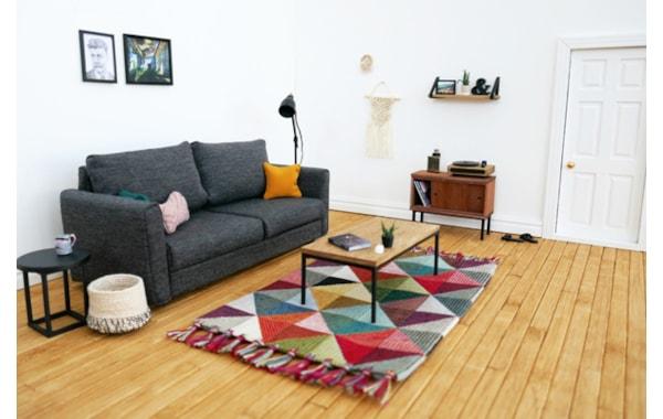 SJ Holmes miniature contemporary living room