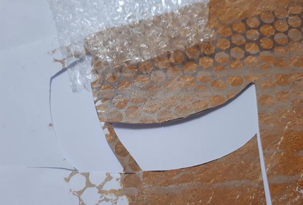 bubble wrap print