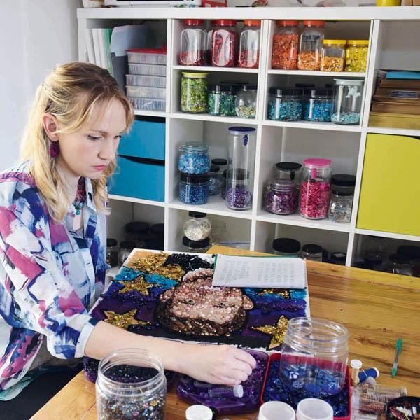 Sarah Gwyer textile artist
