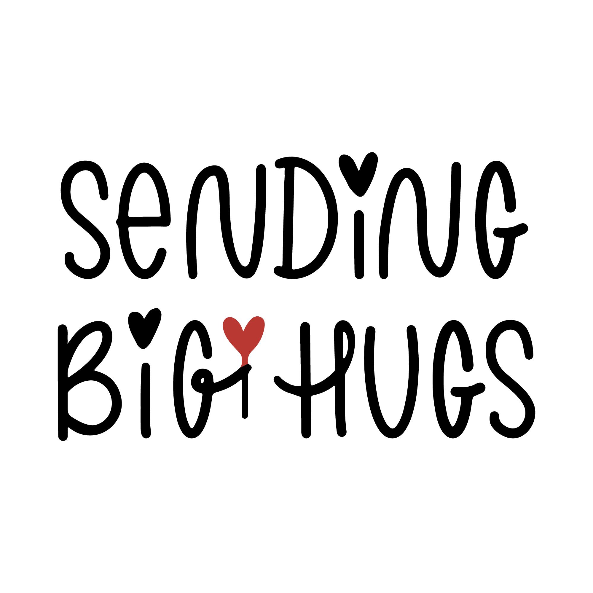 Sending big hugs