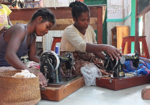 Sewing in Madagascar
