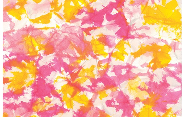 Simple crumpled paper background