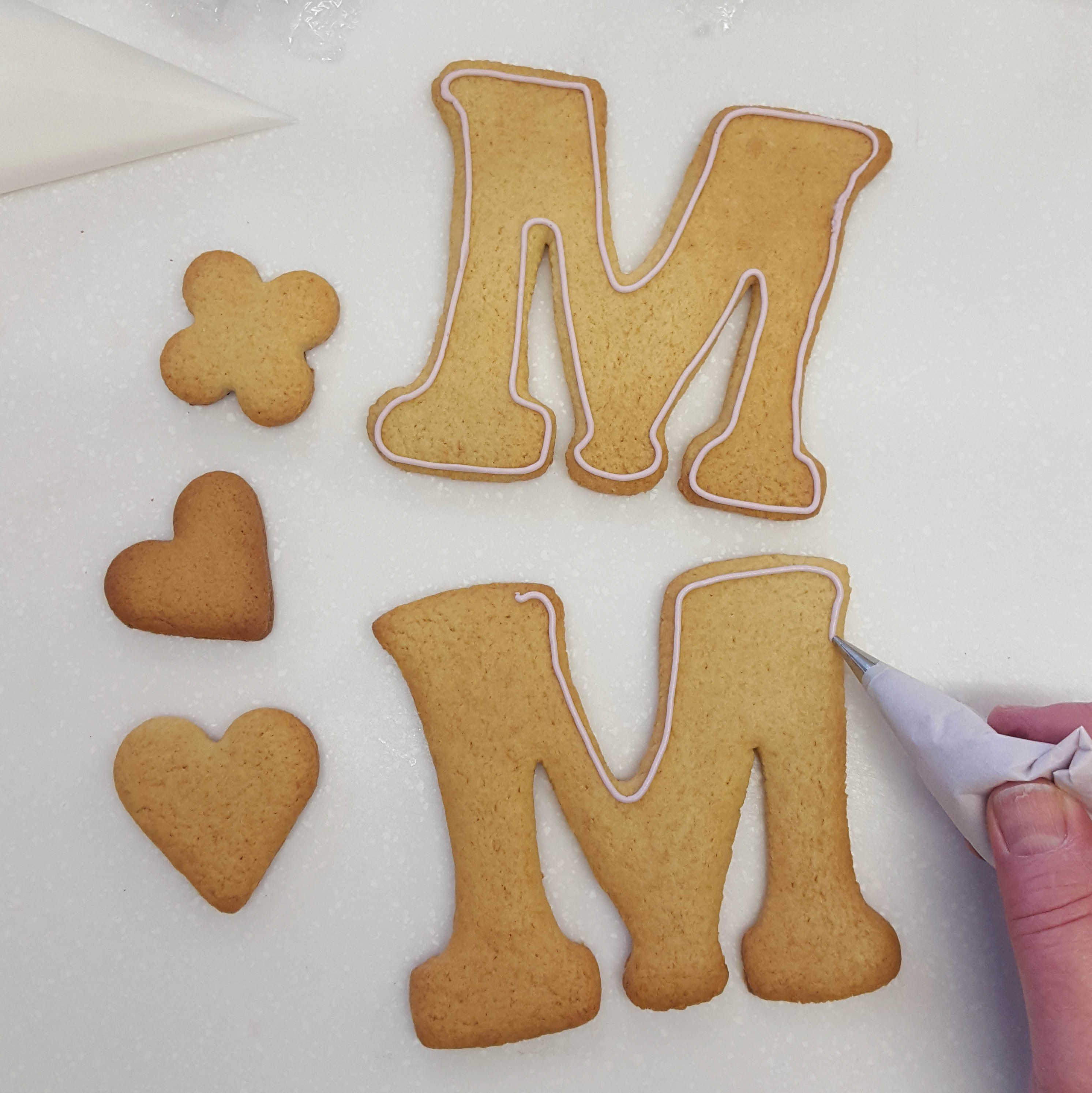 Mother's Day biscuits step 6