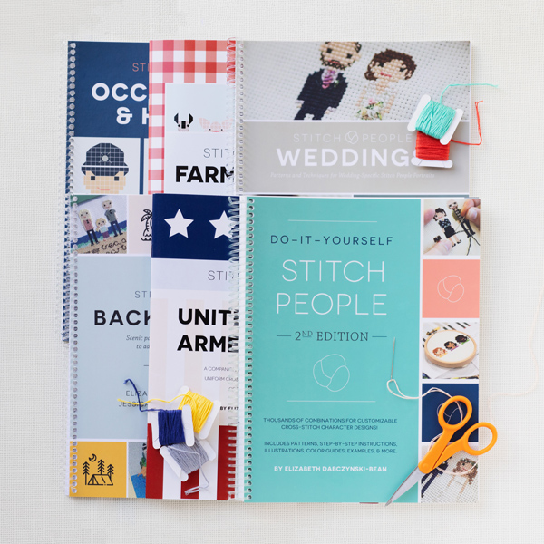 Stitch People diy book collection