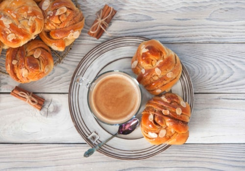 Swedish cinnamon buns and coffee