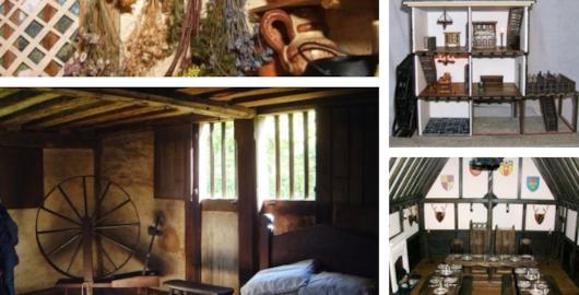 Tudor era miniatures collage