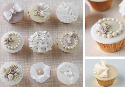 Vintage cupcakes tutorial
