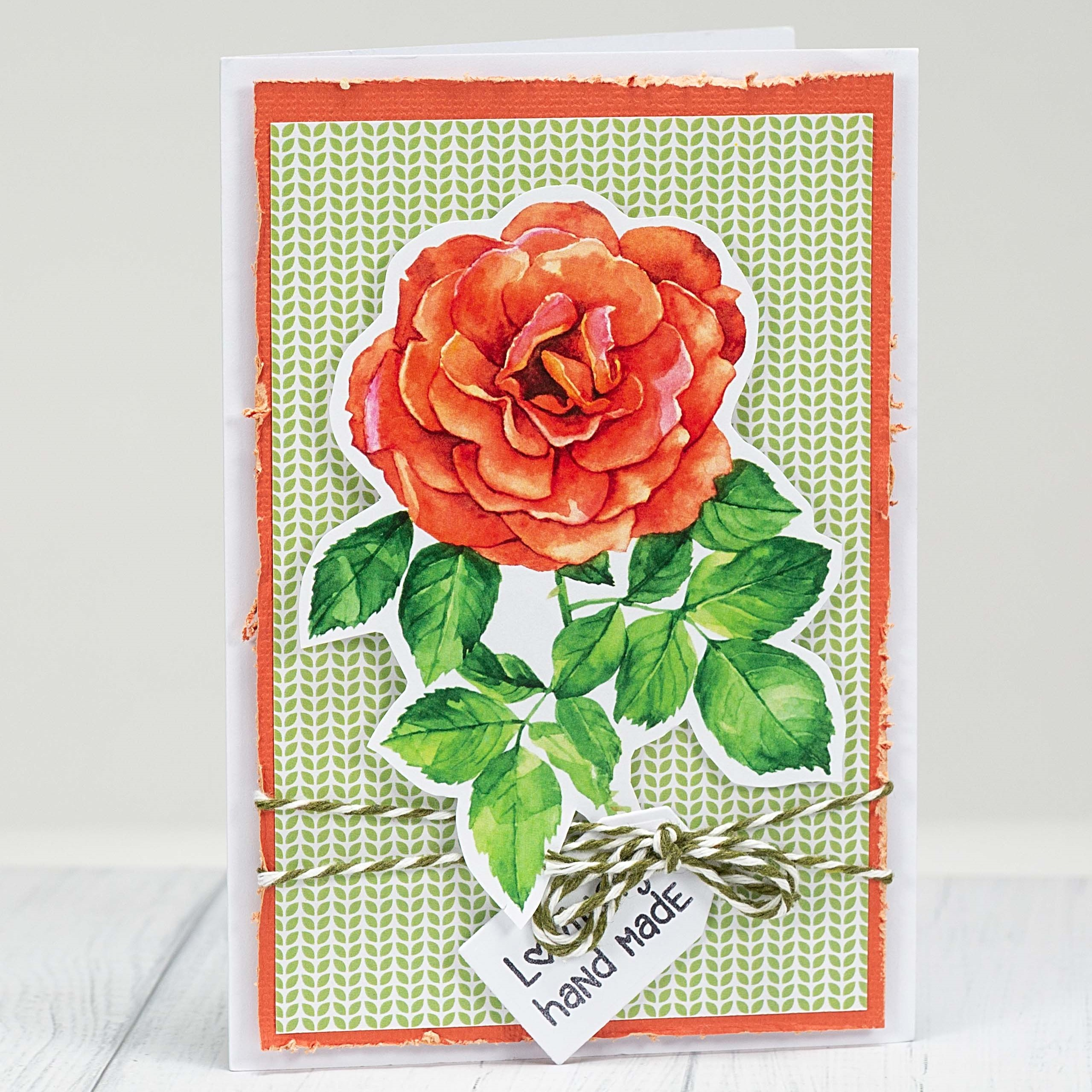 Flower card making ideas: handmade with love