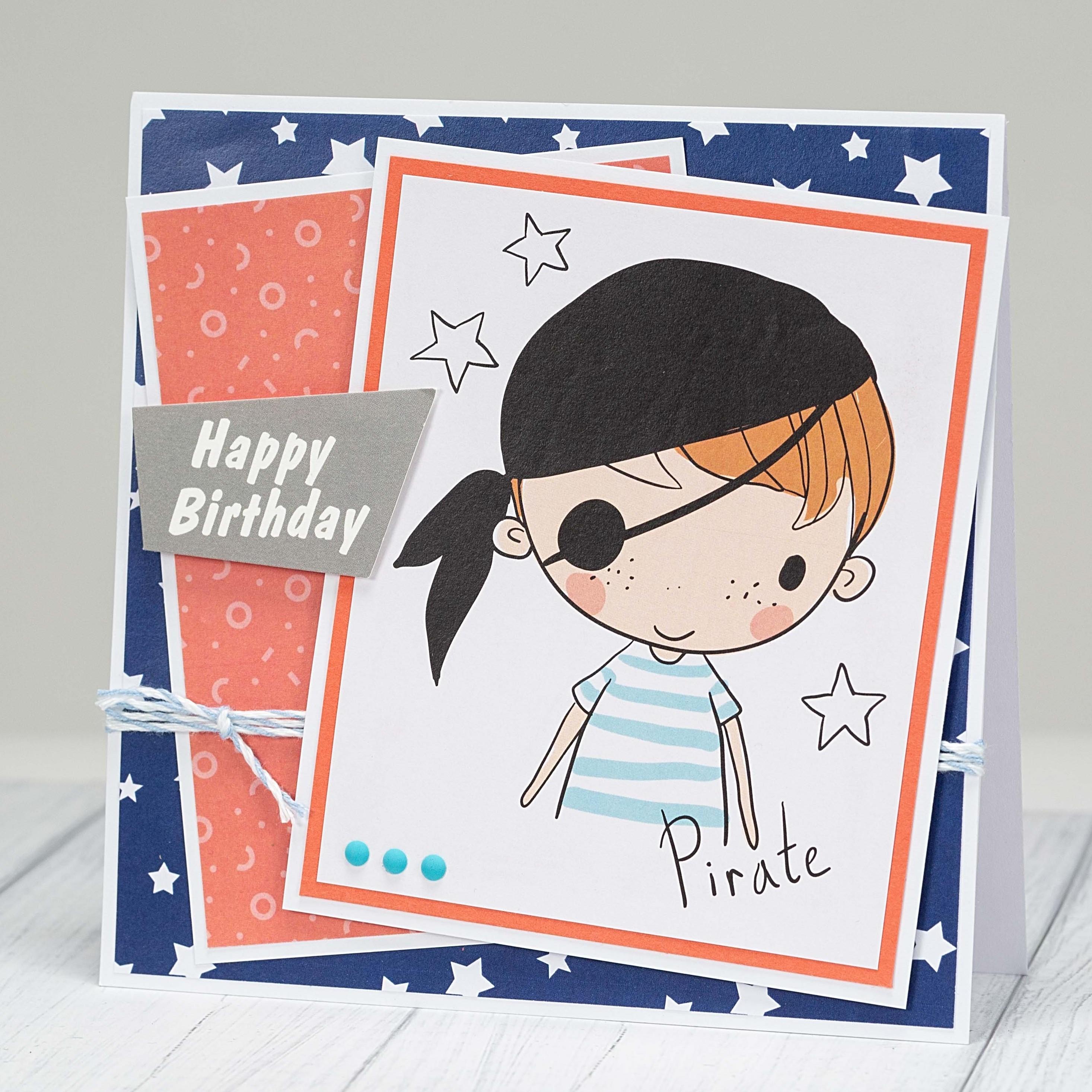 Homemade birthday cards for boys