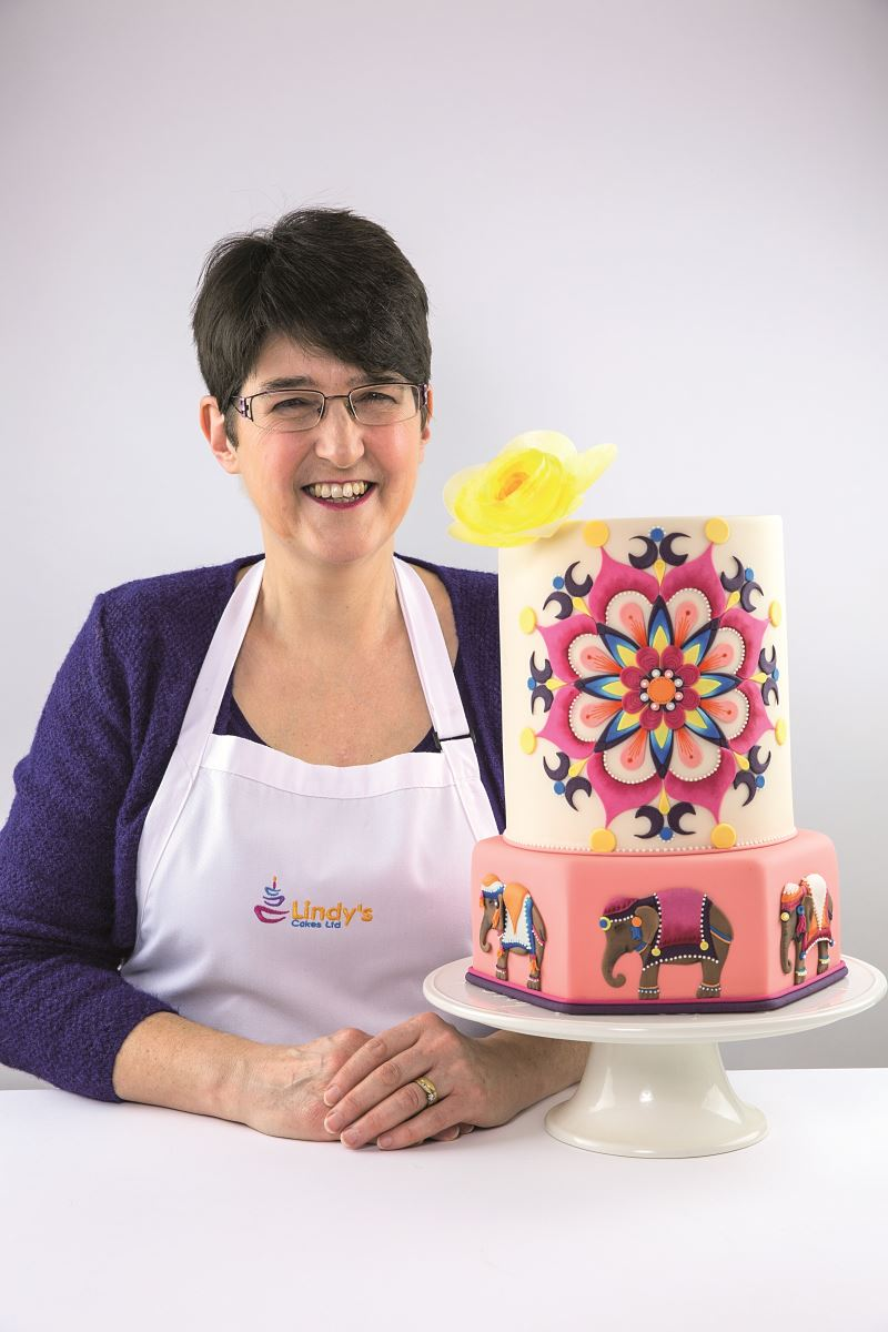 FINAL MANDALA CAKE