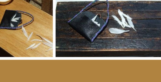 WW1 conscription & white feathers – miniature DIY project