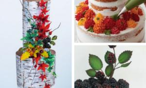 autumn cake decorating tutorials