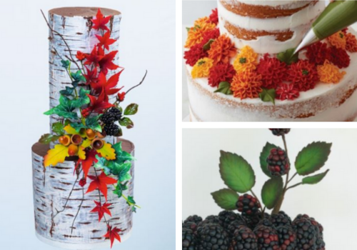 autumn cake decorating tutorials