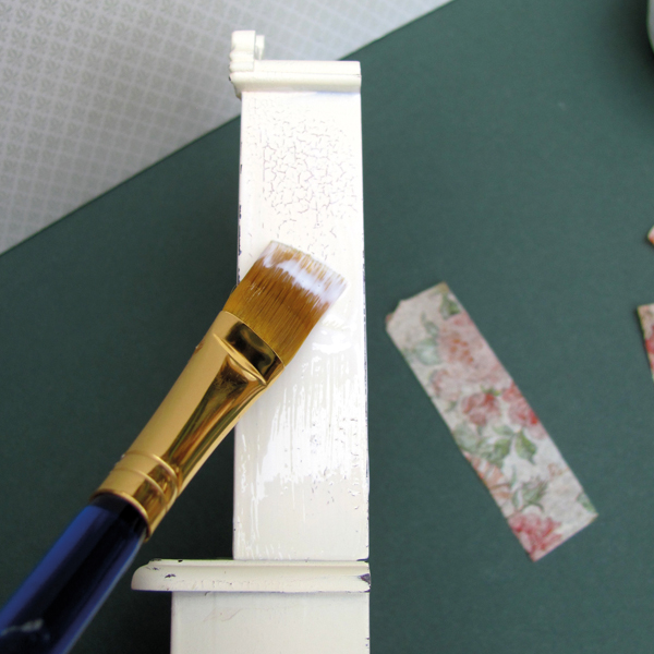 brushing-miniature-furniture-with-glue
