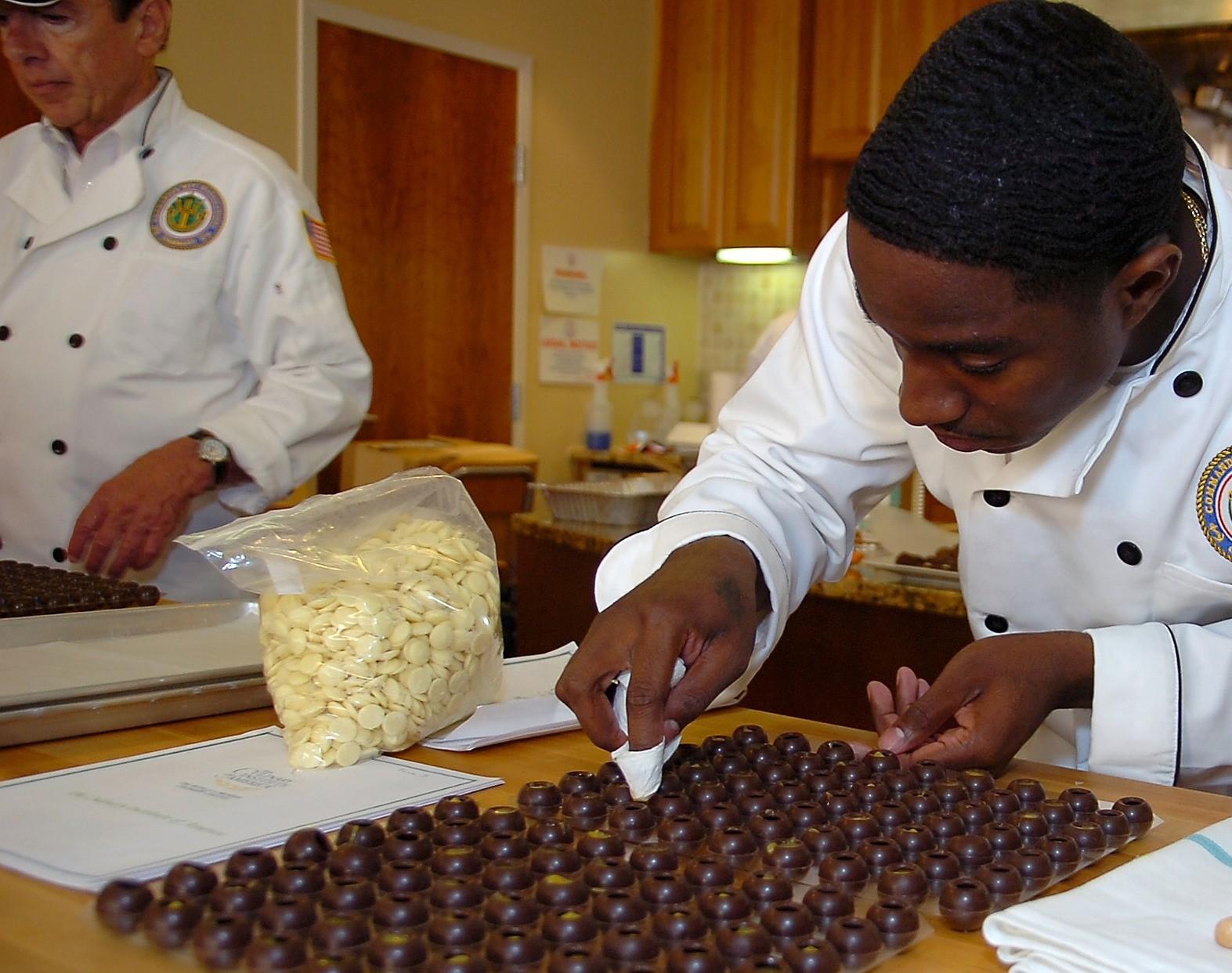 Training chefs