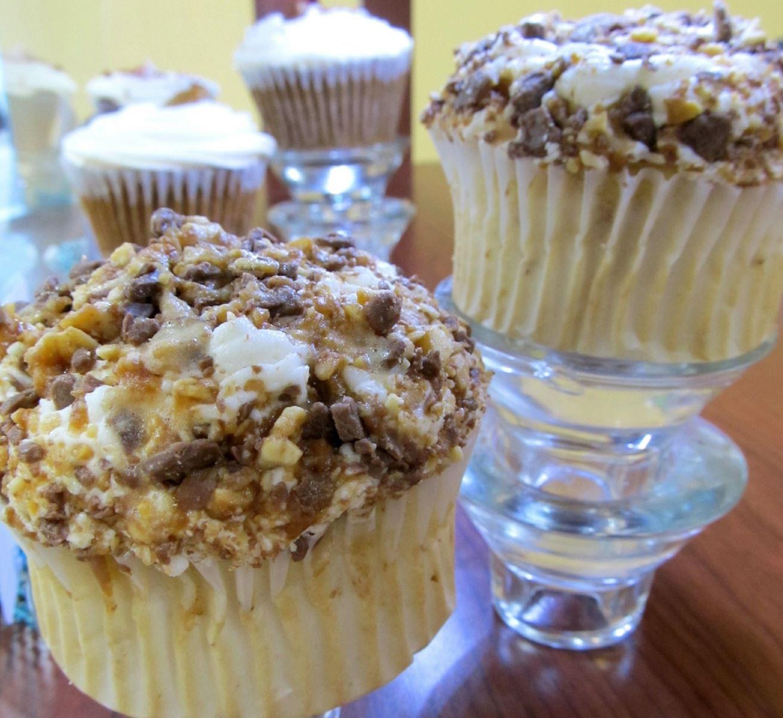 muesli top cupcakes