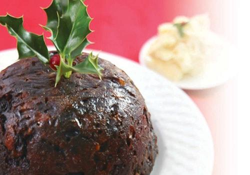 easy Christmas pudding