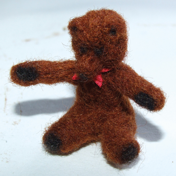 finished-needle-felted-miniature-bear-with-ribbon